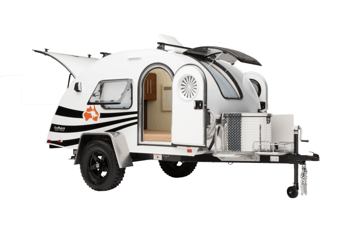 Teardrop RV trailer