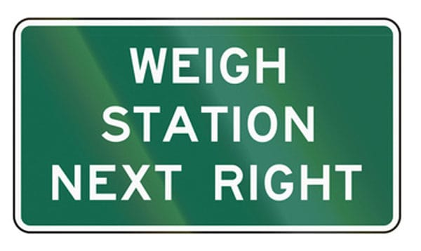 Weigh station - why you need to weigh your truck