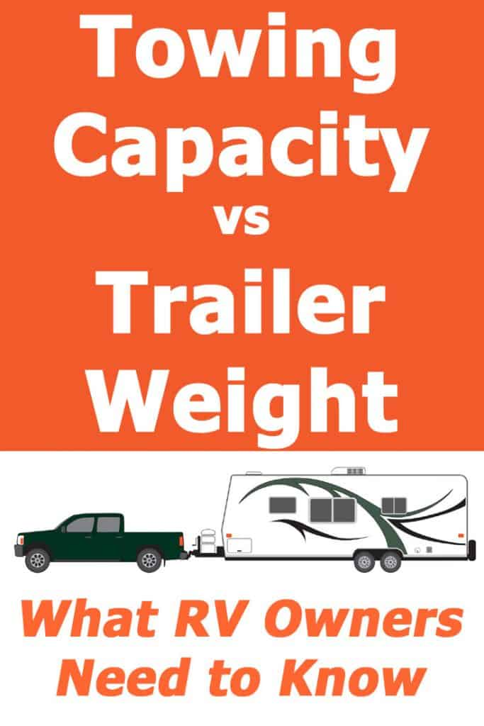 Towing capacity vs. Trailer weights - what RV owners need to know