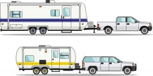 SUV vs Pickup Truck for RV towing: which to choose?