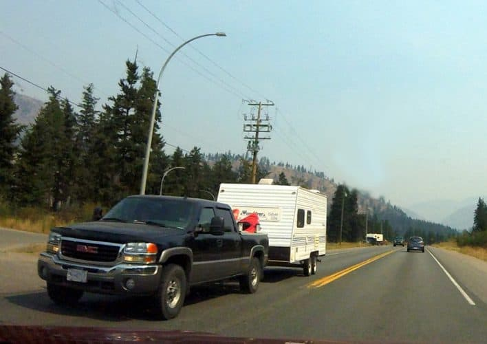 Keep your travel trailer level when towing