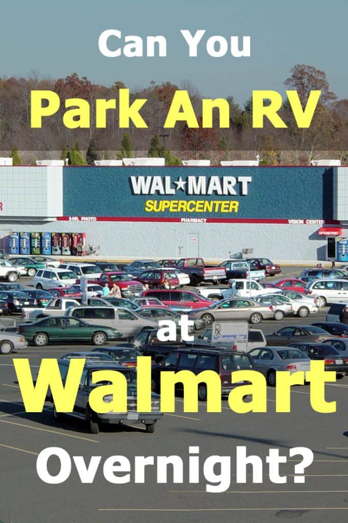 Can you park your RV at Walmart overnight? Here's a complete guide for Wallydocking. How to find the right Walmart and get permission to stay there for free.