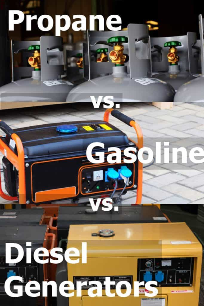 Propane vs. Diesel vs. Gas Generators for RVs (Which Is Best for Your Needs?)