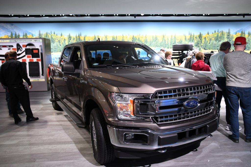 Ford F150 at the 2018 North American International Auto Show