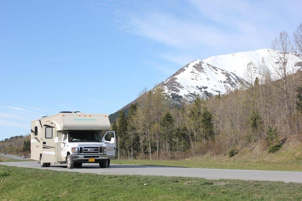 RV in Alaska