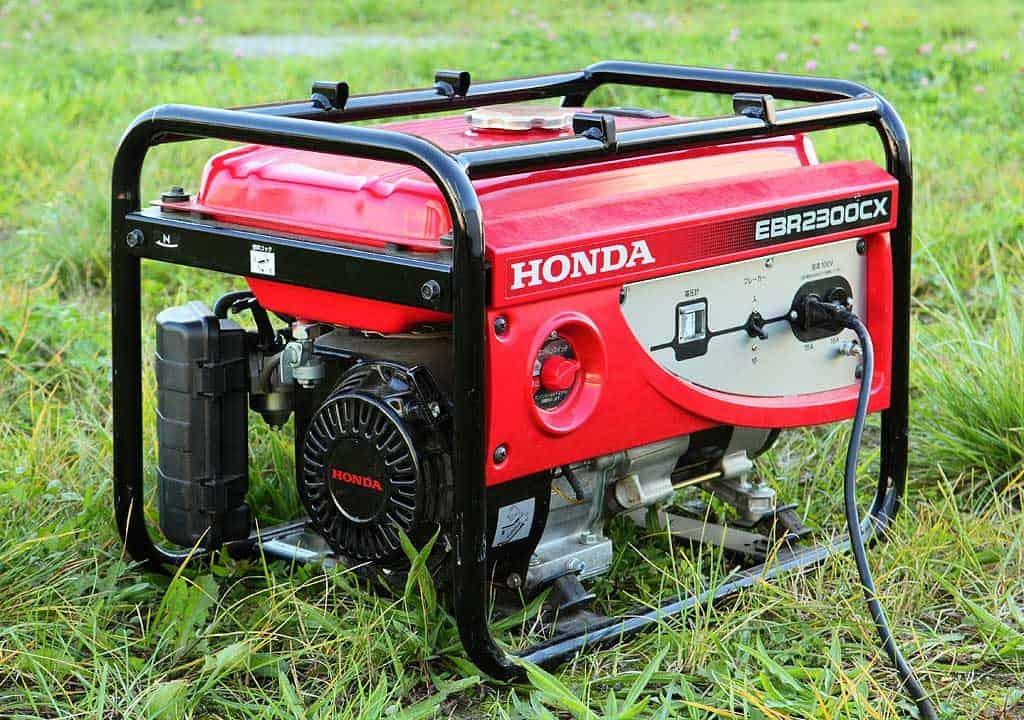 Honda EBR2300CX Gasoline Generator | Photo by Tennen-Gas