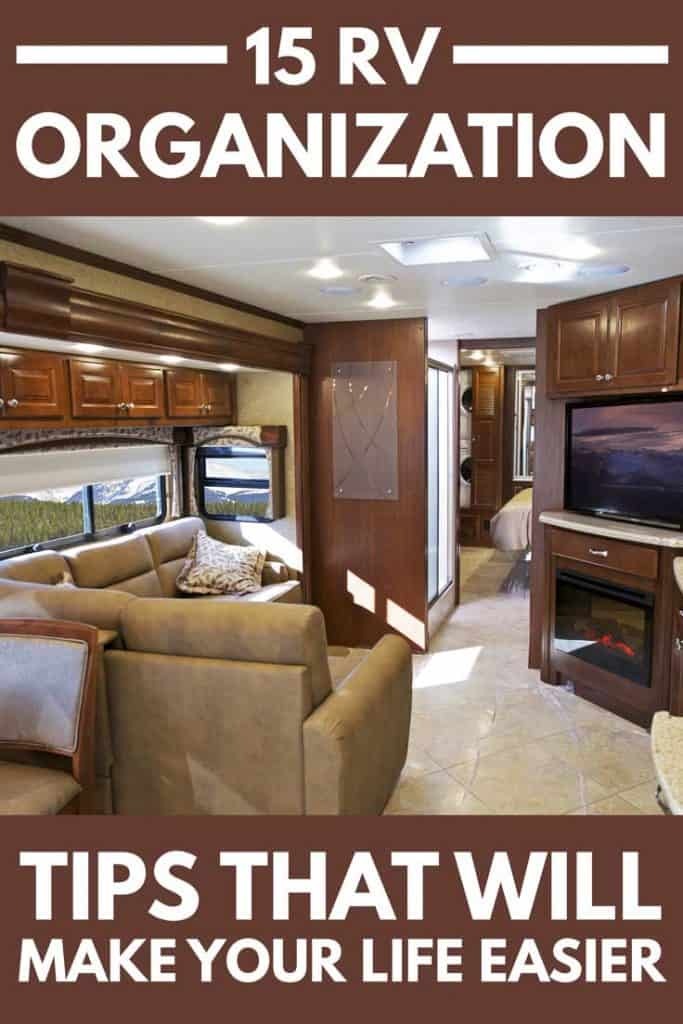 15 Rv Organization Tips That Will Make Your Life Easier
