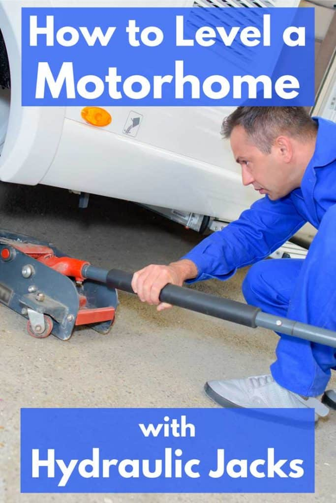 How To Level a Motorhome with Hydraulic Jacks - Vehicle HQ