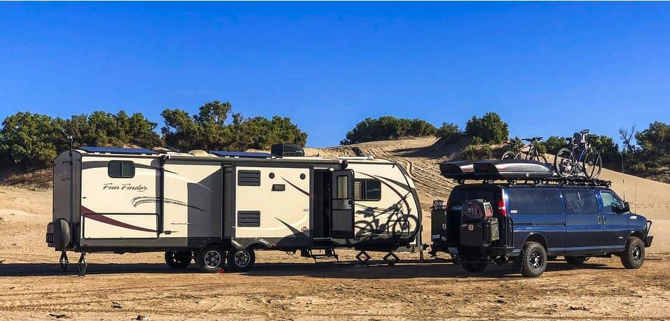 RV Fifth Wheel