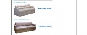 Coach Supply Direct website product page for furniture