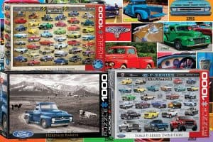 13 Pickup Truck Jigsaw Puzzles for Fans of the Genre