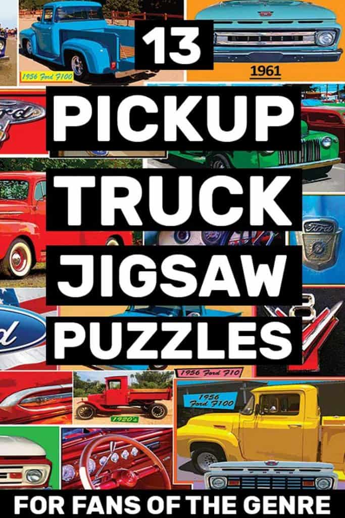 13 truck jigsaw puzzles you will love