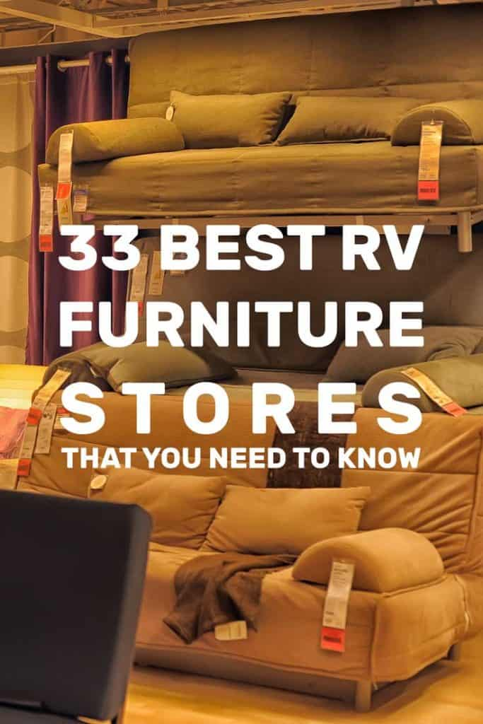 33 Best RV Furniture Stores That You Need To Know