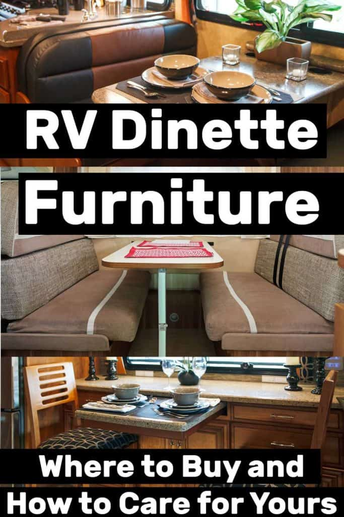 RV Dinette Furniture: Where To Buy And How To Care For Yours