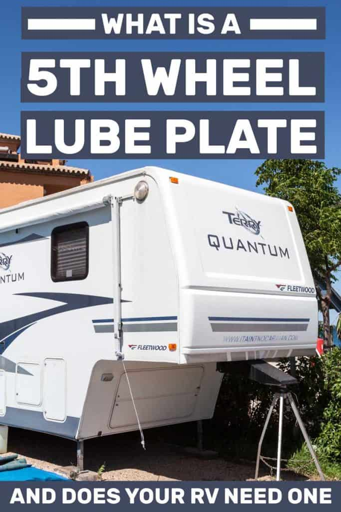 What Is a 5th Wheel Lube Plate (And Does Your RV Need One)