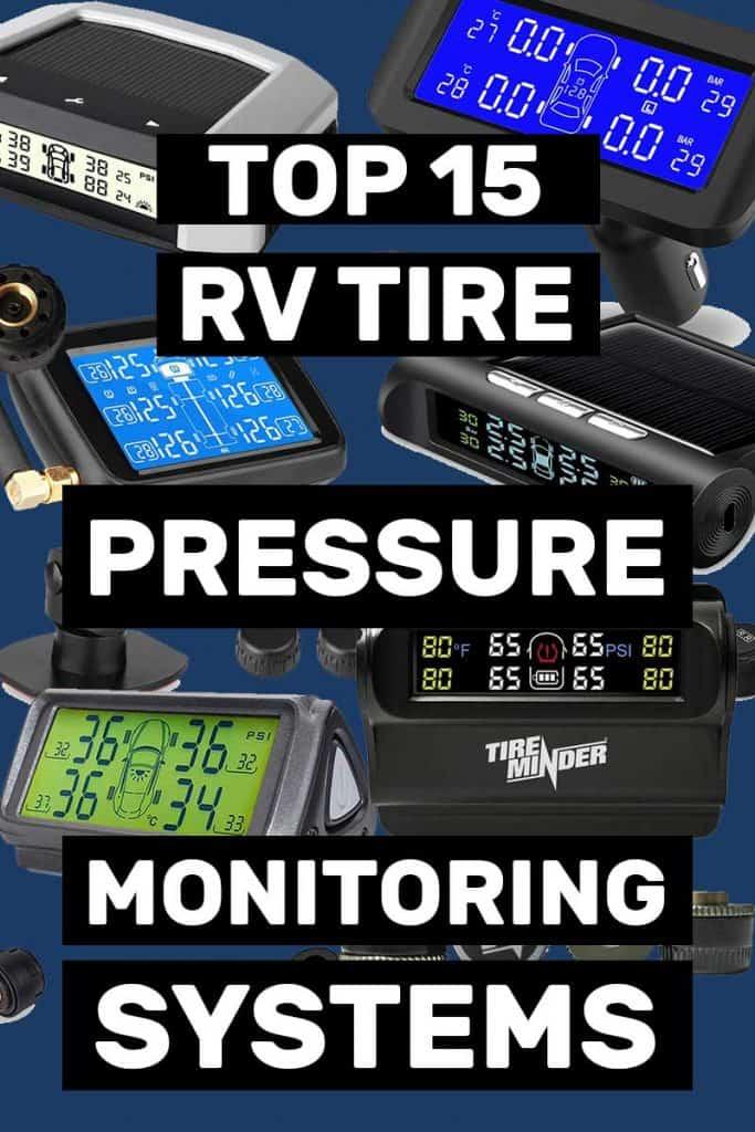 Top 15 RV Tire Pressure Monitoring Systems